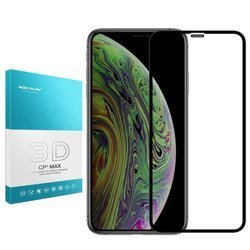 Szkło Nillkin 3D CP+ MAX do Apple iPhone 11 Pro Max (Czarne)