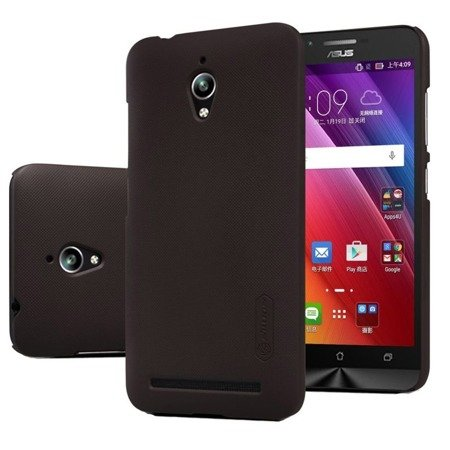 Etui Nillkin Frosted Shield Asus Zenfone Go ZC500TG - Brown